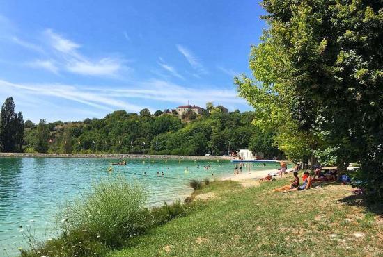 Vakantiehuis in Fauroux, Dordogne-Limousin - Lac de Montaigu