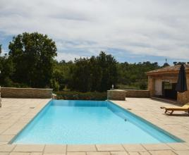 Holiday house in Figanières with pool, in Provence-Côte d'Azur.