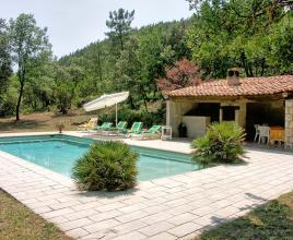 Holiday house in Taradeau with pool, in Provence-Côte d'Azur.