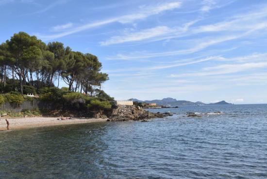 Ferienhaus in  Saint-Aygulf, Provence-Côte d'Azur - Bucht beim Haus