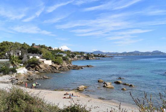 Ferienhaus in  Saint-Aygulf, Provence-Côte d'Azur - Saint Aygulf - ein Bucht