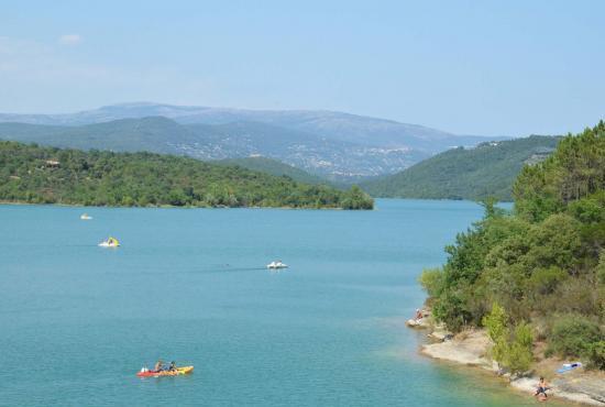 Location de vacances en Fayence, Provence-Côte d'Azur - Lac de Saint Cassien