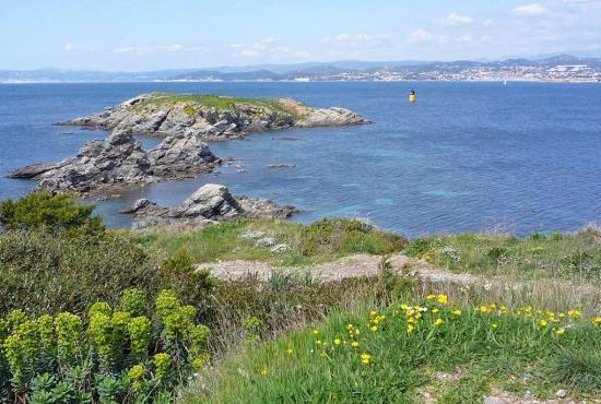 Casa vacanza in Saint-Cyr-sur-Mer, Provence-Côte d'Azur - Iles des Embiez
