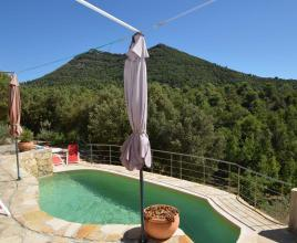 Holiday house in Pontevès with pool, in Provence-Côte d'Azur.