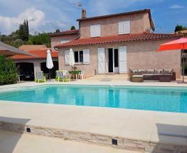 Vakantiehuis in Fayence met zwembad, in Provence-Côte d'Azur.