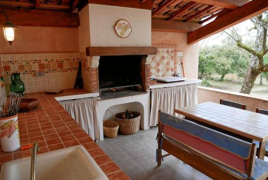 Holiday house in Fox-Amphoux, Provence-Côte d'Azur - Summer kitchen