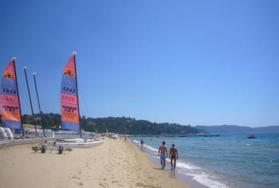 Location de vacances en Lorgues, Provence-Côte d'Azur - La Croix-Valmer - Plage de la Douane