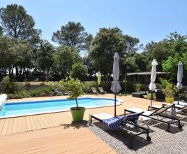 Holiday house in Les Arcs-sur-Argens with pool, in Provence-Côte d'Azur.