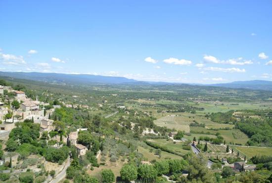 Vakantiehuis in Gargas, Provence-Côte d'Azur - Gordes - landschap