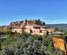 Holiday house in Roussillon, in Provence-Côte d'Azur.