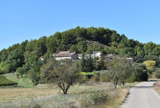 Holiday house in Roussillon, Provence-Côte d'Azur - The house in hamlet