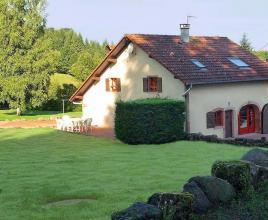 Ferienhaus in Tendon, in Lothringen.