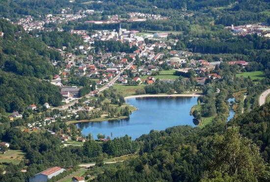 Vakantiehuis in Le Thillot, Lotharingen - Lac de Moselotte