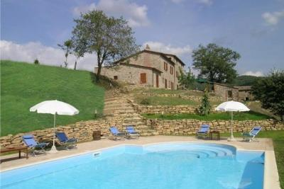 Vakantiehuizen met zwembad Umbrië