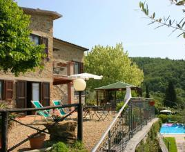 Holiday house with pool in Tuscany in San Giustino Valdarno (Italy)