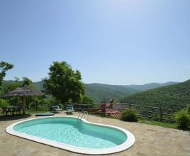 Ferienhaus in Antria mit Pool, in Toskana.