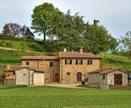 Holiday house in Monte San Savino, in Tuscany.