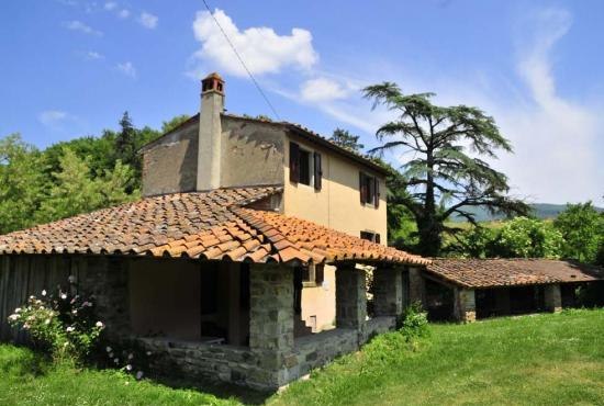 Holiday house in Bibbiena, Tuscany -