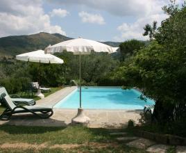 Location de vacances avec piscine à Castiglion Fiorentino, Toscane.