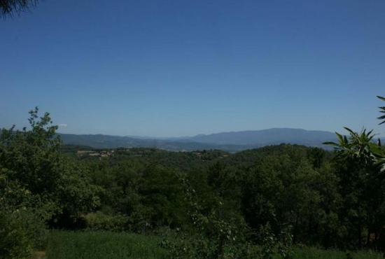 Vakantiehuis in Ruscello, Toscane - Uitzicht bij het huis