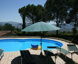 Holiday house in Ruscello with pool, in Tuscany.