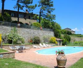 Vakantiehuis in Palazzuolo met zwembad, in Toscane.
