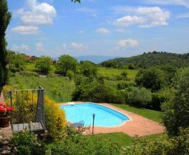 Holiday house in Palazzuolo with pool, in Tuscany.