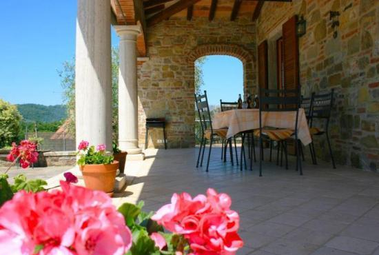 Holiday house in Lucignano, Tuscany -
