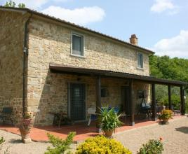 Vakantiehuis in San Giustino Valdarno met zwembad, in Toscane.