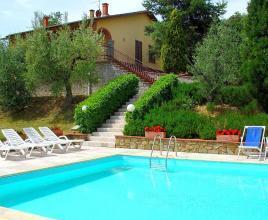 Vakantiehuis in Monte San Savino met zwembad, in Toscane.