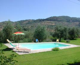 Holiday house in Arezzo with pool, in Tuscany.