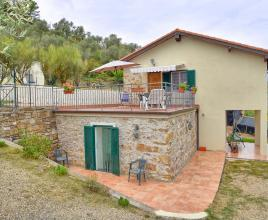 Holiday house with pool in Liguria in Dolceacqua (Italy)