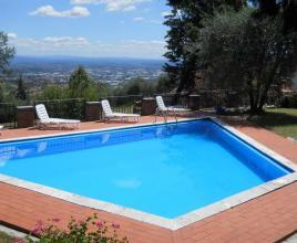 Holiday house in San Gennaro with pool, in Tuscany.