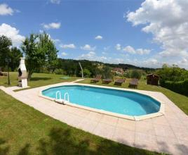 Holiday house in San Ginese di Compito with pool, in Tuscany