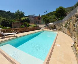 Ferienhaus in San Leonardo mit Pool, in Toskana.