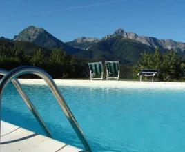 Holiday house in Antognano with pool, in Tuscany.