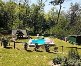 Casa vacanze con piscina in San Ginese di Compito, in Toscana.