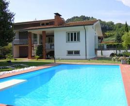 Holiday house in Monsagrati with pool, in Tuscany.