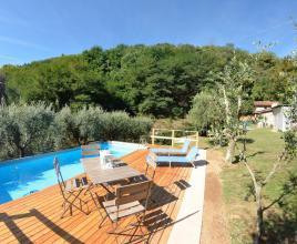 Vakantiehuis in Fiano met zwembad, in Toscane.