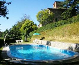 Ferienhaus in Monteleone d'Orvieto mit Pool, in Umbrien.