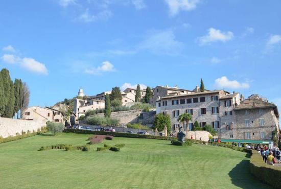 Vakantiehuis in Valbiancara, Umbrië - Assisi