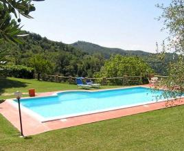 Holiday house with pool in Umbria in Valbiancara (Italy)