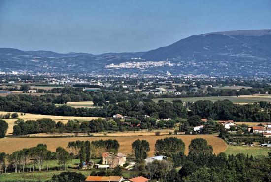 Vakantiehuis in Tordibetto, Umbrië - Assisi - landschap