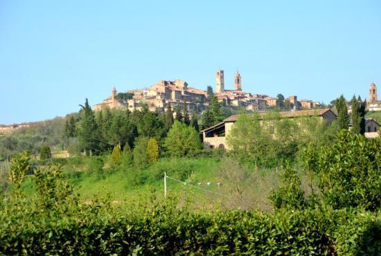 Vakantiehuis in Città della Pieve, Umbrië - Uitzicht op Citta della Pieve