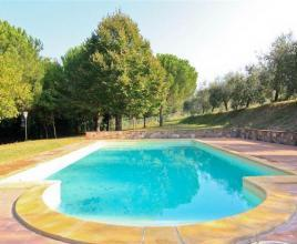 Holiday house in Citta della Pieve with pool, in Umbria.