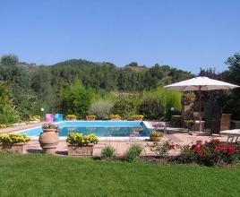 Holiday house in Gaglietole with pool, in Umbria.