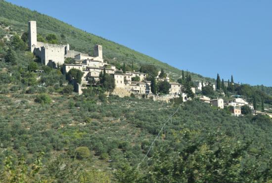 Vakantiehuis in Pontebari, Umbrië - Campello