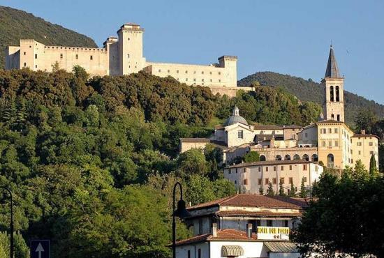 Vakantiehuis in Pontebari, Umbrië - Spoleto