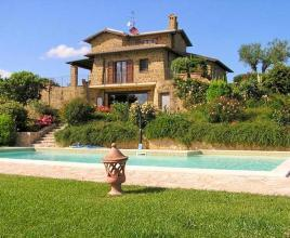 Holiday house in Casalalta with pool, in Umbria.