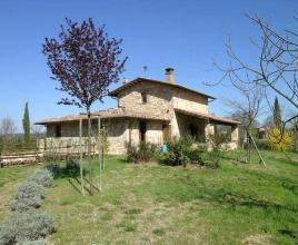 Holiday house in Città  della Pieve with pool, in Umbria.